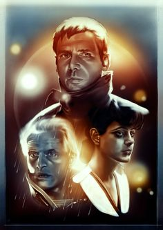 Una de mis películas favoritas Fan Art hecho por Rhys James Blade Runner Art, Blade Runner 2049, Boy Pictures, Movie Poster Art, Disney Fan Art, Cultura Pop, Good Movies, Awesome Movies, Science Fiction