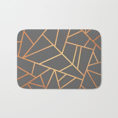 Check out society6curated.com for more! @society6 #abstract #abstraction #home #decor #homedecor #apartment #apartmentgoals #sophomoreyear #sophomore #bathroom #bath #mats #bathmats #bedandbath #bathe #unique #art #design #creativity #creative #fun #gift #giftidea #gifts #giftideas #geometric #copper #grey #gray