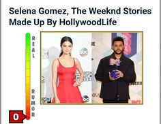 Selena Gomez The Weeknd Stories Made Up By HollywoodLife  HollywoodLifeis seemingly making up stories aboutSelena GomezandThe Weeknd.Gossip Copcan expose whats going on.  AsGossip Copreported earlier on Wednesdayphotos emerged of Gomez and The Weeknd kissingwhile on a date Tuesday night. In the hours since the pictures debuted online HollywoodLife has run FIVE exclusive stories about the apparent new couple. Yet before today the outlet had no clue that the stars were even dating.  Now…