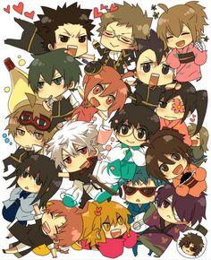 Gintama ~~ Cast O' Chibis!