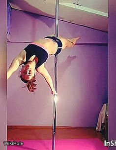 Diving with genesis.mariela  #WikiPole #poledance #TrickDay
