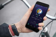ByCycling is an app meant to help employees stay healthy by incentivizing them towards exercise