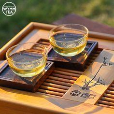 "Enjoying our signature pu-erh, 2014 Mangnuo Tengtiao ""Cane Tea"" Sheng, have you tried it?  #puer #puerh #tea #teacup #teaware #mangnuo #sheng #tengtiao #yunnan #chinesetea #tealover #teaaddict #teavana #bamboo #sunnyafternoon #weekend #chill #relax #healthy #detox #davidstea #organic #2014 #sheng #wymmtea #茶 #普洱 #中国茶"