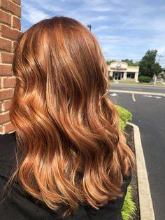 Hair by Stephanie carns true salon Berlin NJ Red Balayage, Red Hair, Salons, Berlin, Hair Cuts, Long Hair Styles, Beauty, Haircuts, Lounges