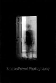 8x10 Inch Fine Art Print  Ghostly Portrait  Black by SPowellPhoto