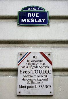 La rue Meslay  (Paris 3ème)