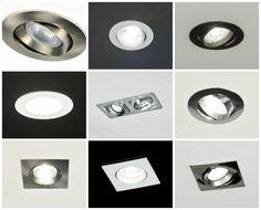 Kitchen Lamps, Living Room Kitchen, Kitchen Reno, Hallway Lighting, Bedroom Lighting, Interior Lighting, Recessed Spotlights, Master Room, Garden Lamps