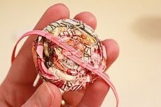 Another great one for baby girl headbands... good tips on how to do the elastic