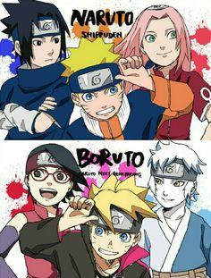 Old or New Team 7 - Naruto/Boruto: Naruto Next Generations