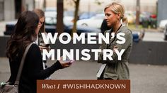 What I wish I had known about women's ministry | The Resurgence