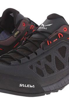 SALEWA Firetail 3 GTX (Black Out/Papavero) Men's Shoes - SALEWA, Firetail 3 GTX, 63445-0949, Footwear Athletic General, Athletic, Athletic, Footwear, Shoes, Gift - Outfit Ideas And Street Style 2017