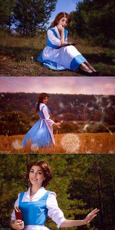 Belle Cosplay, Cosplay Diy, Cute Cosplay, Cosplay Ideas, Princess Shot, Princess Belle, Disney Princess Cosplay, Disney Cosplay, Disney Princess Challenge