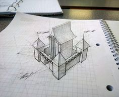 Castle 3D by EvgenyS.deviantart.com on @DeviantArt