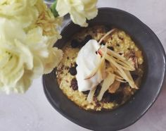 Nordic spiced porridge, my breakfast in the morning! Diet Recipes, Vegetarian Recipes, Healthy Recipes, Healthy Meals, Yummy Recipes, Nordic Diet, Nordic Recipe, Deliciously Ella, Porridge Recipes