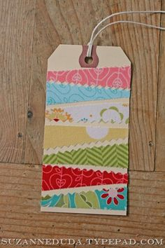 scrap tag from pink roses and other passions...