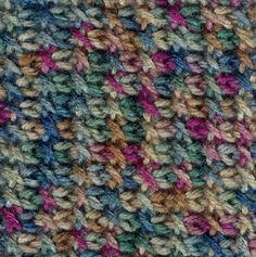 Tunisian CAL: Month 6 – The Tunisian Cross Stitch - KRW Knitwear Studio