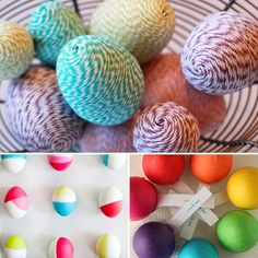Some GREAT Easter craft ideas that the kids will love to do . . . and so will you!  Extra points for Blackboard Eggs : )