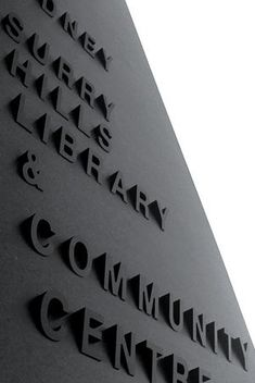Akin + Collider | integrated signage | Surry Hills Library | Sydney, Australia