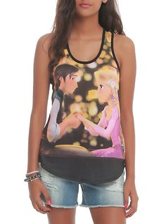 Disney Tangled Boat Girls Tank Top | Hot Topic - To wear with a shirt underneath....