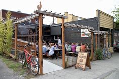 The Best Hidden Restaurant Patios | Seattle - We really like the casual feel of this patio