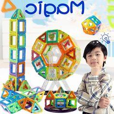 29.99$  Buy here - https://alitems.com/g/1e8d114494b01f4c715516525dc3e8/?i=5&ulp=https%3A%2F%2Fwww.aliexpress.com%2Fitem%2F2016-Mini-Magnetic-Building-Blocks-Models-Building-Magnet-Game-Enlighten-Bricks-Toy-Plastic-Technic-Children-Educational%2F32721456238.html - 2016 Mini Magnetic Building Blocks Models & Building Magnet Game Enlighten Bricks Toy Plastic Technic Children Educational Toys