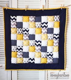 How to Make a Puff Quilt Pattern PDF File by HoneybearLane on Etsy, $12.00
