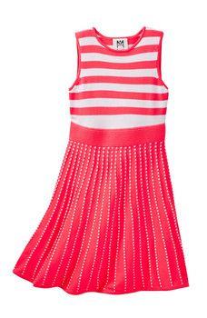 Milly Minis - Stripe Flare Dress (Big Girls)