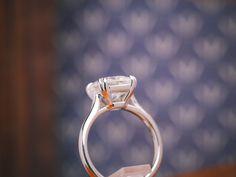 Asscher solitaire by David Klass Jewelry. Solitaire Rings, David, Engagement Rings, Jewelry, Enagement Rings, Wedding Rings, Jewlery, Jewerly, Schmuck