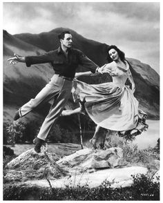 Gene Kelly and Cyd Charisse