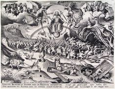 """Last Judgment"" - Pieter Bruegel the Elder c.1590"