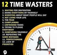 """the biggest time wasters I don't like the term """"time management."""" You can't manage time. However, you can manage tasks. I don't like the term """"time management."""" You can't manage time. However, you can manage tasks. Self Development, Personal Development, Life Skills, Life Lessons, Motivational Videos, Inspirational Quotes, Libra, Time Wasters, Business Motivation"""