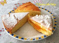 La torta con glassa al limone ha una base versatile, può essere usata anche per una ciambella, una volta raffreddata può essere farcita come preferite