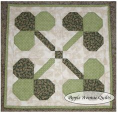 Apple Avenue Quilts: Free Block of the Month: March Blocks