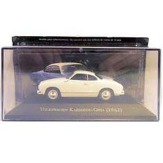 Miniatura VW Karmann-Ghia (1962) Coleção Carros Inesquecíveis do Brasil - Arte em Miniaturas