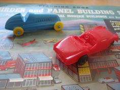 Kenner's Girder And Panel Building Set Cars From The 1960s