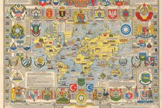 Bullock (Leslie George), United Nations Map of the World
