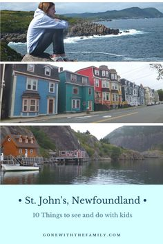 Top 10 Family-friendly things to do in St. John's, Newfoundland plus places to eat and places to stay. Summer Travel, Travel With Kids, Family Travel, Family Vacations, Family Getaways, Newfoundland And Labrador, Newfoundland Canada, Canadian Travel, Canadian Rockies