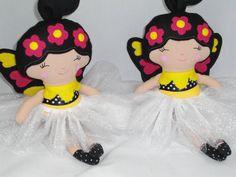 Fairy Doll Flower Fairy Cloth Fairy Doll Bee Fairy Made by cocomia, $35.00