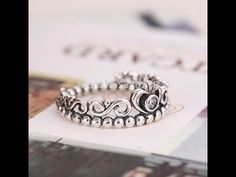 37a4b37b4 Pandora Princess Crown Ring, Matching Promise Rings, Silver Rings, 925  Silver, Pandora Rings, Jewels, Wedding Rings, Engagement Rings, Bracelets