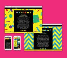 WayHome Music & Arts Festival // Branding & Design on Behance