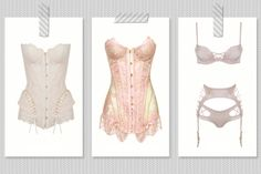 Immaculate and sensual: a lesson in bridal lingerie