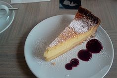 gebackener topfenkuchen Lorraine, French Toast, Cheesecake, Metz, Breakfast, Ethnic Recipes, Desserts, Food, France