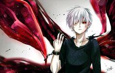 รูปภาพ tokyo ghoul, anime, and kaneki ken