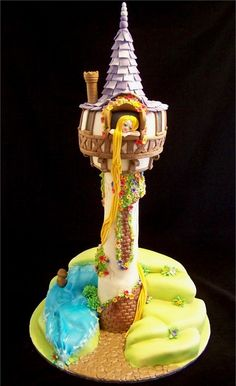 Disney Cakes @Eric Lee Lee-Teresa McElwain this is the cake Doo should have had for her birthday lol