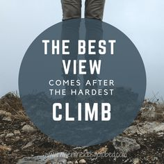 Motivation Monday - Climb