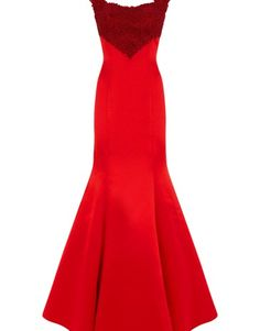 Dynastyuk autumn-winter-2015 Vela - red - long dress