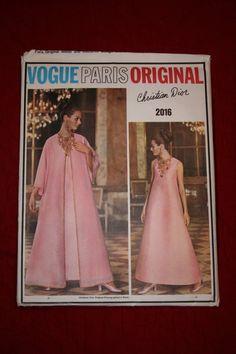 RARE and UNCUT Vogue Paris Original Pattern by PalousePickers