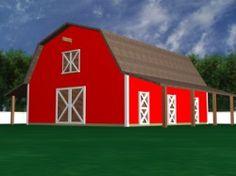 """Free Horse Barn Plans"""
