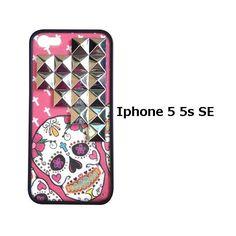 wildflower ワイルドフラワー スカル Pink Sugar Skull Silver i :Pink-Sugar-Skull-Silver-Pyramid-iPhone-55s-Case:ショップレトワールボーテ - 通販 - Yahoo!ショッピング