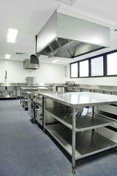 Cocina industrial y para grandes colectividades - Mobiliario de cocina industrial ...